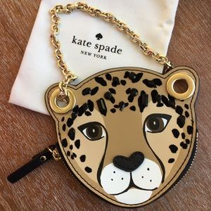 Cheetah face 🐆kate spade coin purse wristlet